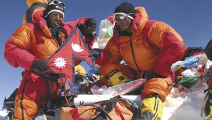 Photo credit: Apa Sherpa and Jerry Mika/SuperSherpas