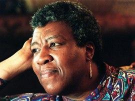Octavia Butler staring